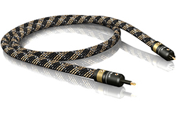 VIABLUE H-FLEX 光デジタルケーブル 3.5mm to 角型 Sleeved